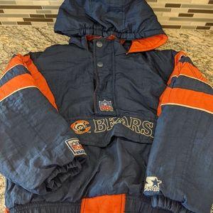 Chicago Bears vintage Starter Jacket Small